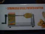 Mesin Pengiris Kentang Spiral, Kentang Ulir, (Manual Stainless Steel Potato Cutter)